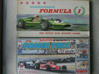 'Formula 1' and 'Grand Prix' board games by Waddingtons.