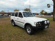 1992 Toyota Landcruiser HZJ80R White 5 Speed Manual Wagon Beverley Charles Sturt Area Preview