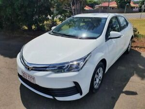 2018 Toyota Corolla ZRE172R MY17 Ascent White 7 Speed CVT Auto Sequential Sedan Wilsonton Toowoomba City Preview