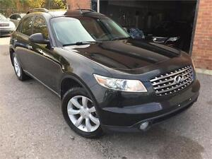 INFINITY FX35 2005 AUTO/ AWD/CUIR/MAGS/TOIT OUVRANT/CRUISE !