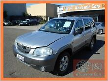 2001 Mazda Tribute Limited Silver 4 Speed Automatic 4x4 Wagon Warwick Farm Liverpool Area Preview