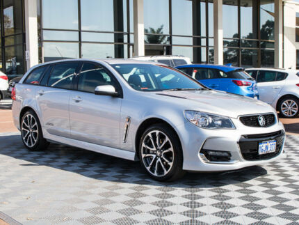 2017 Holden Commodore VF II MY17 SS Sportwagon Silver 6 Speed Sports Automatic Wagon