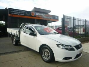 2008 Ford Falcon FG Ute Super Cab White 4 Speed Sports Automatic Utility