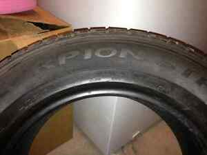 REDUCED PRICE!! MUST GO Winter tires 215 65 16 Cambridge Kitchener Area image 3