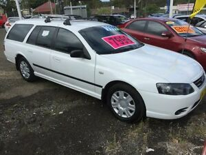 2008 Ford Falcon BF MkII XT (LPG) White 4 Speed Auto Seq Sportshift Wagon Kanwal Wyong Area Preview