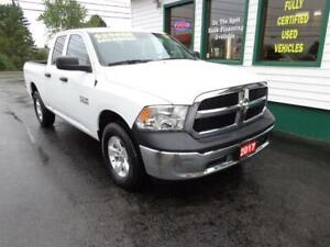 2017 Ram 1500 SXT Quad 4x4 V6 for only $239 bi-weekly all in!