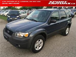 2005 Ford Escape XLT! Keyless Entry! A/C! Sunroof! Rust Proofed!