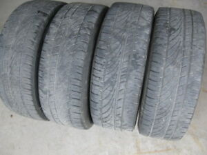 GREAT SET OF 4 195/65R15 ALL SEASON.$60 FOR ALL 4