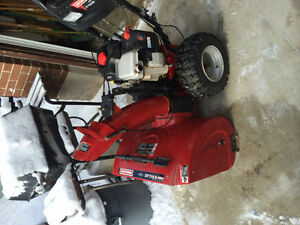 NICE CRAFTSMAN 13.5 HP SNOWBLOWER