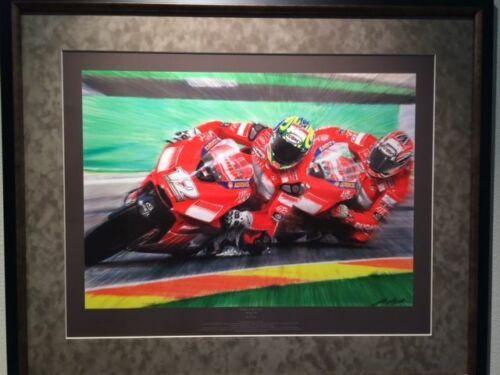 "TROY BAYLISS and Ducati ""Twins - Full Circle"" by John Keogh"