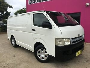 2005 Toyota Hiace KDH200R LWB White 5 Speed Manual Van Rocklea Brisbane South West Preview
