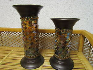 TWO PARTY LITE GLOBAL CANDLE HOLDERS price lowered Edmonton Edmonton Area image 1