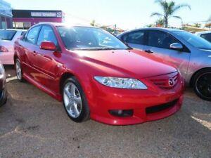 2003 Mazda 6 GG1031 Luxury Sports Red 4 Speed Sports Automatic Hatchback Minchinbury Blacktown Area Preview