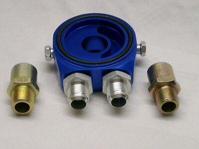 Burstflow Universal Ölkühler Adapterplatte Anschluss mit Gewinde AN08 D08