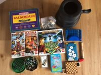 Lego games, marble games, travel games and more