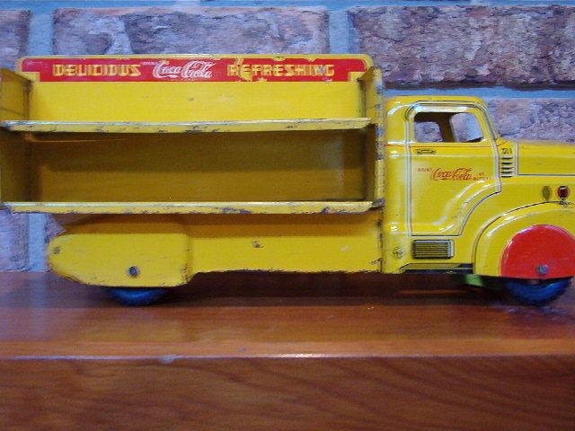 VINTAGE 1954  COCA COLA MARX TRUCK