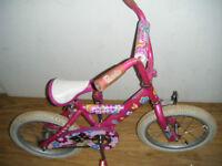 Barbie 16 inch bike for sale