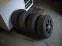 VW alloy rims and tires