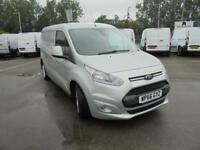 Ford Transit Connect 240 L2 Diesel 1.5 TDCI 120PS Van EURO 5 (Silver) (2016)