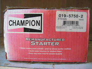 NEW in BOX--STARTER- CHEVY / GMC