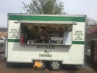 FULLY ELECTRIC CATERING/BURGER VAN FOR SALE (sited on a pitch)