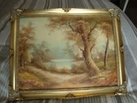 signed &framed oil painting no3