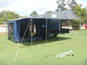 CampTRAX Camper Trailer 12ft tent with optional sleepout Greenwood Joondalup Area Preview