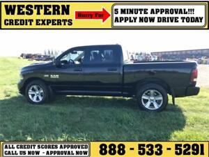 2015 Ram 1500 Sport 4x4 Crew~3M Wrap~Hemi~Leather~ $255 B/W