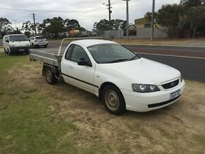 2004 Ford Falcon BA SR White Automatic Utility Wangara Wanneroo Area Preview