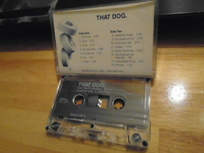 RARE ADVANCE PROMO that dog. CASSETTE TAPE rock Petra Haden RENTALS Decemberists
