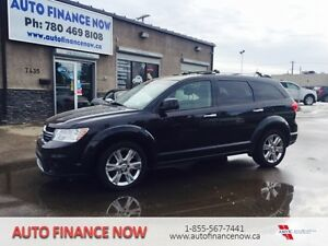 2012 Dodge Journey 7 passenger LEATHER R/T AWD LOW KMS