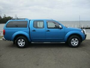 2008 Nissan Navara D40 ST-X (4x4) Blue Opal 6 Speed Manual Dual Cab Pick-up Horsley Wollongong Area Preview