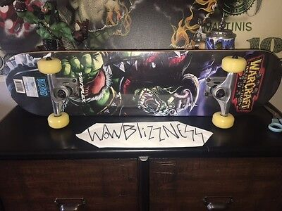 Extremely Rare - Warcraft 3 III Blizzard 1st edition Skateboard - Brand New!!!