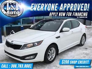 2013 Kia Optima LX-POWER SUNROOF-APPLY NOW! UR APPROVED!