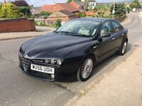 2006 Alfa Romeo 159 JTDM Lusso Turbo diesel looks and drives great 12 months mot