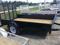 2014 NEW UTILITAIRE TRAILER UTILITY 61X8 3500LBS AXLE