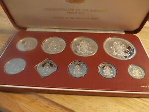 9PC. COIN SETOF THECOMMENWEALTH OF THE BAHAMAS