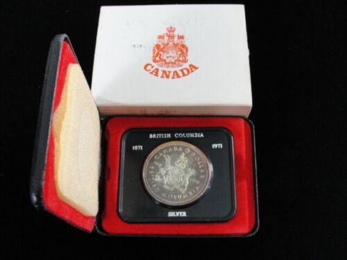 Canada 1971 Royal Canadian Mint Specimen Silver Dollar Set