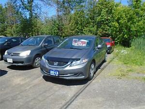 2013 Honda Civic LX-ONE OWNER-DEALER SERVICED-EXTRA CLEAN!