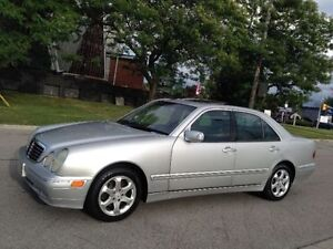2002 MERCEDES-BENZ E320 AUTOMATIC LEATHER ROOF ALLOYS A/C