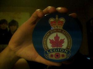 Royal Canadian Legion Coaster Set (Set Of Six)