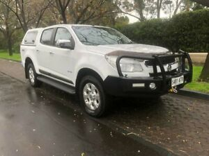 2012 Holden Colorado RG MY13 LTZ Crew Cab White 6 Speed Sports Automatic Utility Hawthorn Mitcham Area Preview