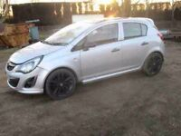 "VAUXHALL CORSA D SRI ALLOY WHEELS 16"" INC TYRE 2012 2013 FACELIFT BREAKING SPARES PX"