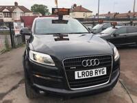 2008 Audi Q7 3.0 TDI ( 237bhp ) AUTOMATIC QUATTRO S LINE