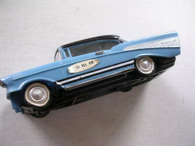 Vintage 1964 Ideal 1957 Chevrolet Bel Air Slot Car