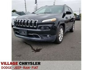 2016 Jeep Cherokee Limited|NAV|LEATHER|REMOTE|BACK UP CAM