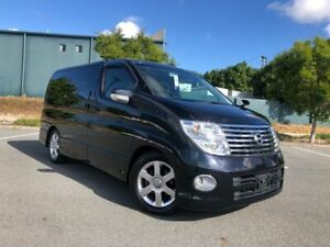 2007 Nissan Elgrand E51 Highway Star Black Automatic Wagon Arundel Gold Coast City Preview