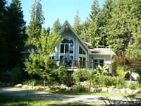 Nearly New Home in Roberts Creek on 1.25 acres + a bonus acre!