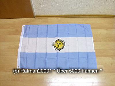 Fahnen Flagge Argentinien - 60 x 90 cm