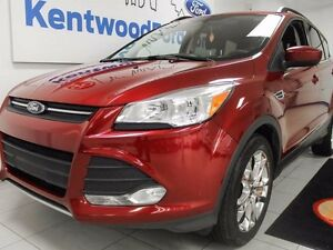 2014 Ford Escape SE ecoboost with heated seats, NAV, and a back